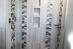 Shower wall Tile Installation - Moose Jaw