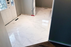 Home Entry Floor Tile Installation - Moose Jaw